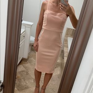 Sexy Coral Cocktail Dress